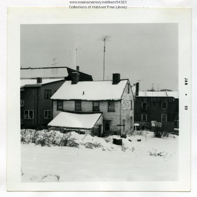Dummer House, Dummer's Lane, Hallowell, 1968