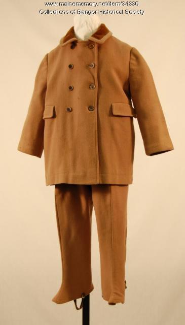 Boy's snow suit, Bangor, ca. 1940