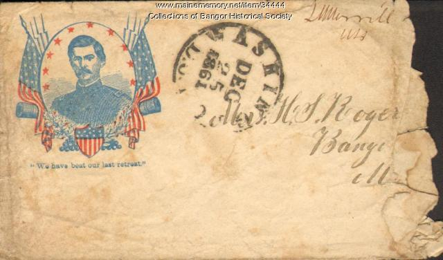Civil War Envelope, 1861