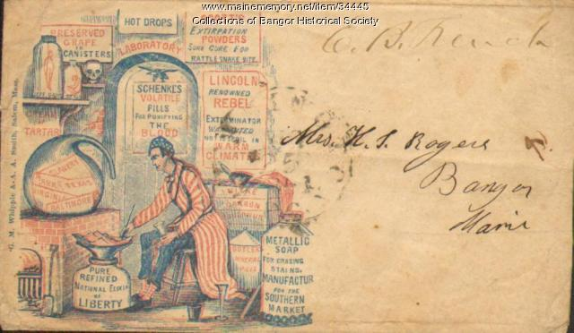 Civil War Envelope, ca. 1862