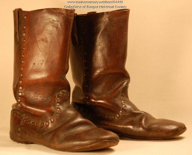 Civil War boots, ca. 1864