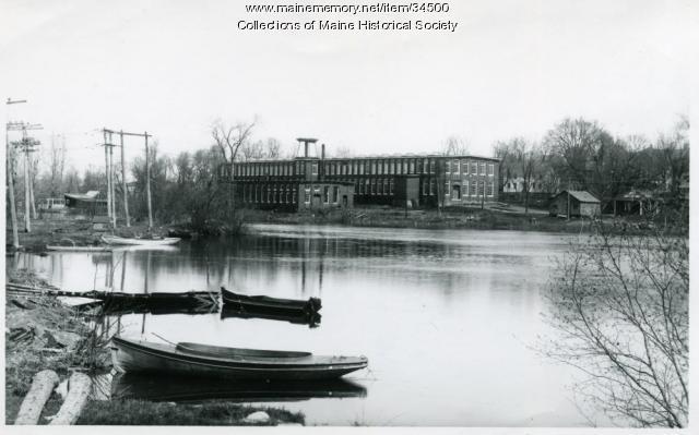 New Haskell Silk Mill, Westbrook, ca. 1935