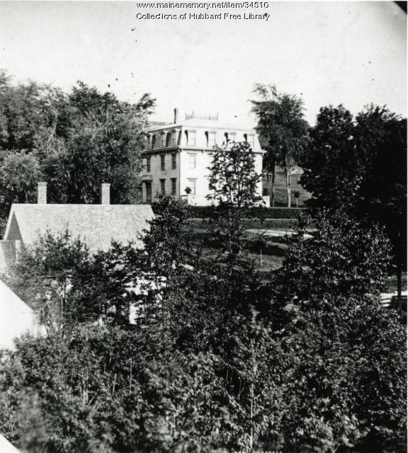 Classical Academy, Central Street, Hallowell, ca. 1880