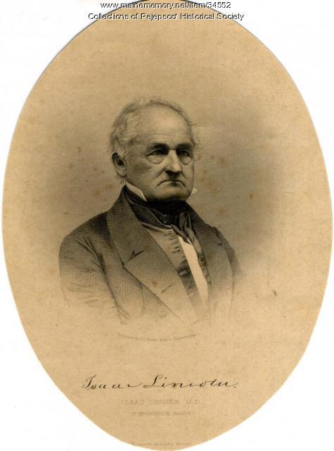 Isaac Lincoln, Brunswick, ca. 1840