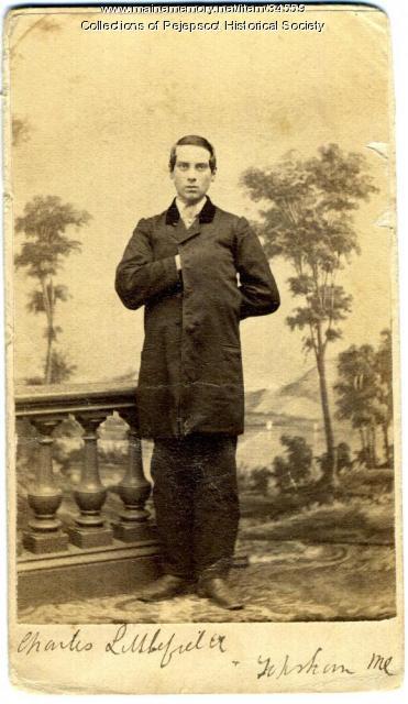 Charles Littlefield, Topsham, ca. 1870