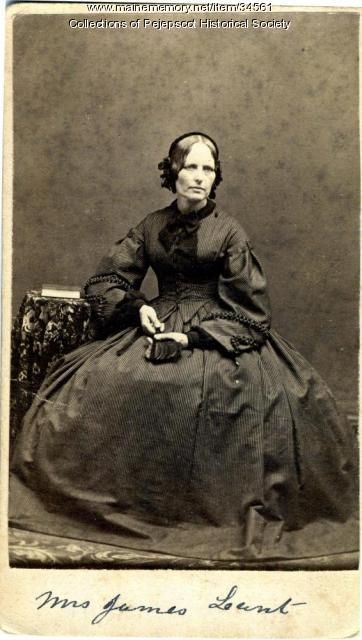 Hester Morse Lunt, Brunswick, ca. 1850