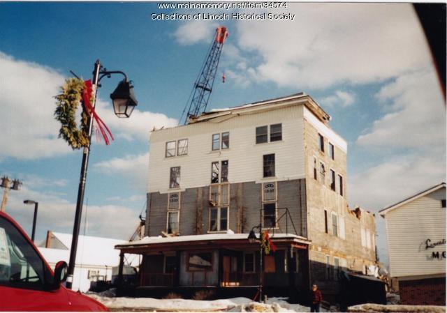 Movie Theater demolition, Lincoln, ca. 1995