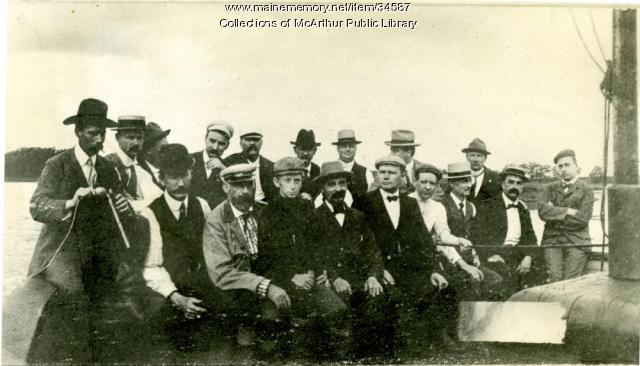 Members of the York County Medical Association, ca. 1899