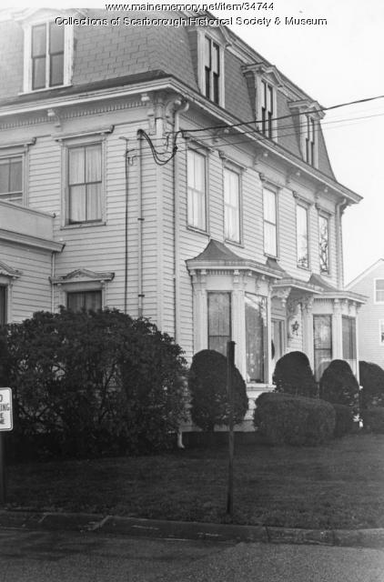 Hay and Peabody Funeral Home, Scarborough, ca. 1960