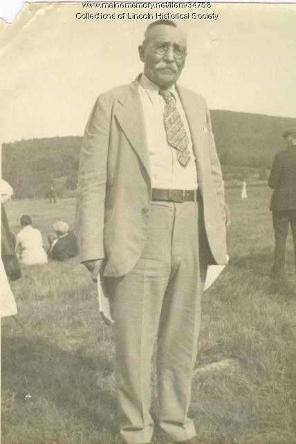 Asa Clay Sr., Lincoln, ca. 1932