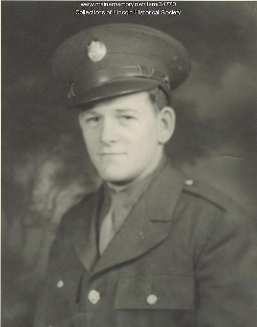 Ariel G. Edwards, WW II soldier, Lincoln, 1943