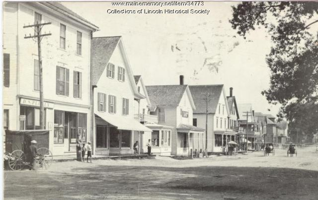 Plumly Block, Lincoln, ca. 1900