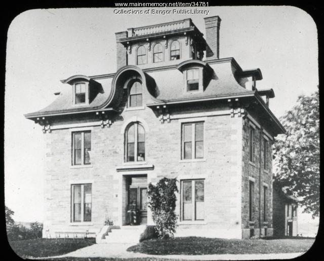 Benjamin H. Mace House, Eastern Maine Medical Center, Bangor, ca. 1892