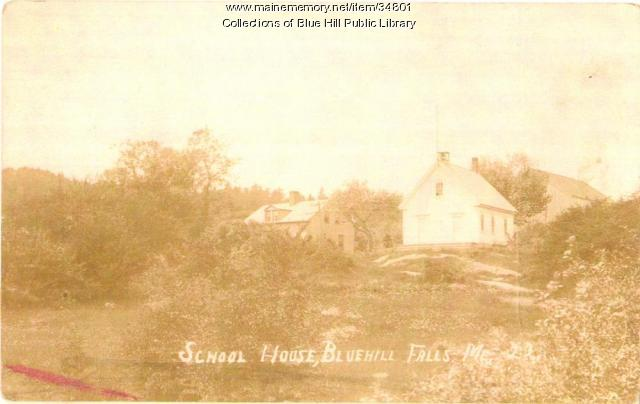 Blue Hill Falls Schoolhouse, Blue Hill 1922