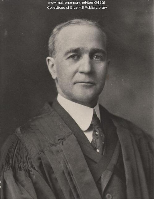 Charles John Dunn, graduate of Blue Hill Academy, ca. 1918