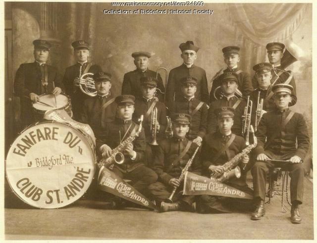 Fanfare Du Club St. Andre, Biddeford, 1926