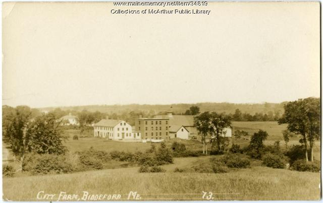 City Farm (Poor Farm), Biddeford, ca. 1910