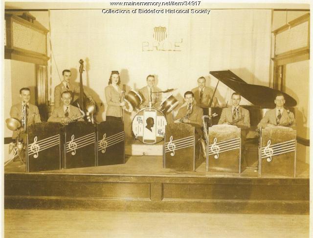 Ralph Armstrong Arcadians Band, Biddeford, ca. 1940