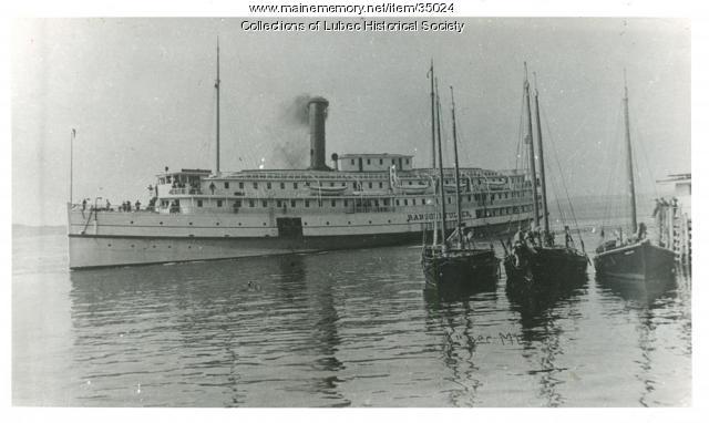 Eastern Steamship Company Ransom B. Fuller, Lubec, ca. 1905