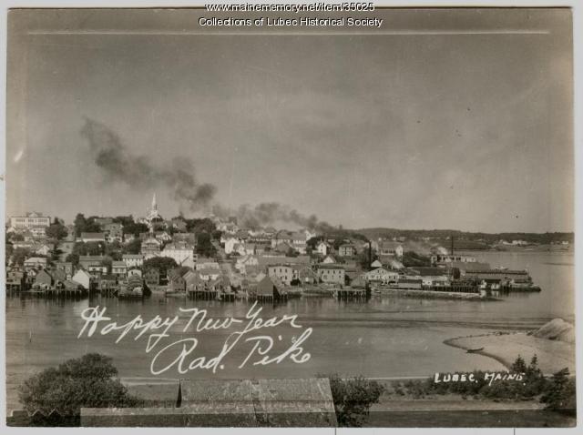 View from Campobello Island, Lubec, ca. 1950