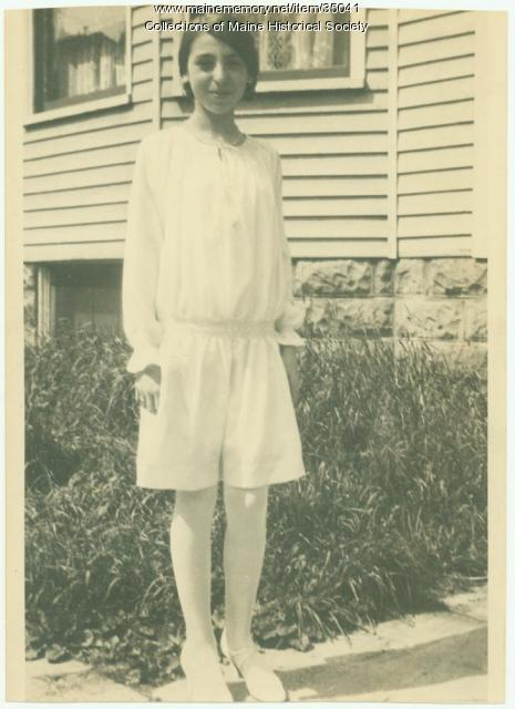Harriett Waterman, Portland, ca. 1925