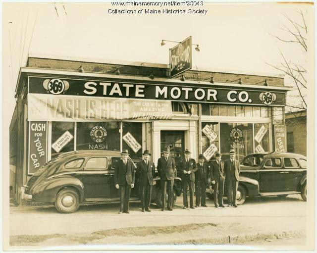 State Motor Co., Portland, ca. 1938