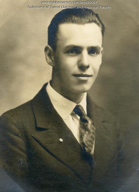 Charles M. Talbot, Turner, 1922