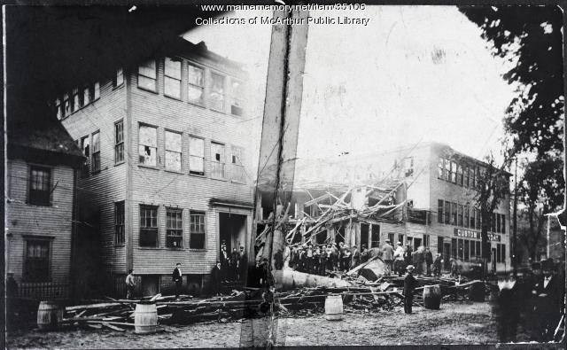 York Light & Heat Company explosion, Biddeford, 1900
