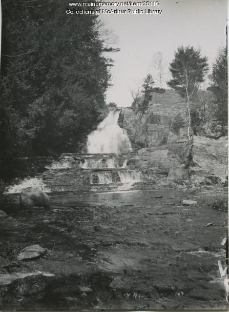 Cascade Falls, Saco, ca. 1910