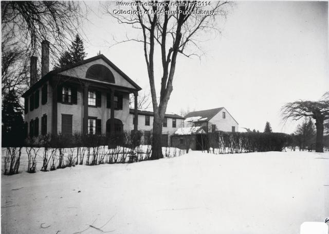Thacher-Goodale House, Saco, ca. 1912