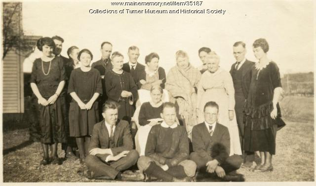 Thanksgiving in Turner, 1923