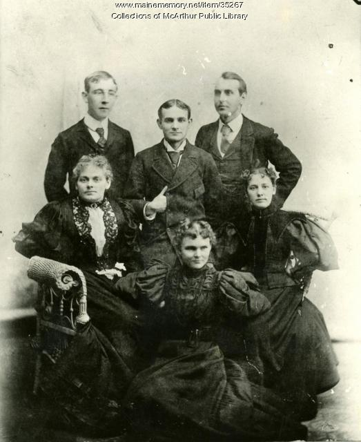 Biddeford Evening School Teachers, ca. 1900