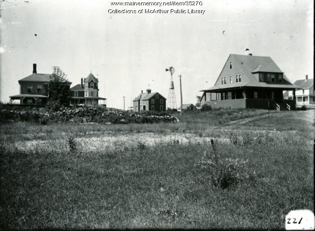 Cottages at Fortunes Rocks, Biddeford, 1911