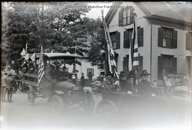Civil War Veterans of Biddeford, 1916