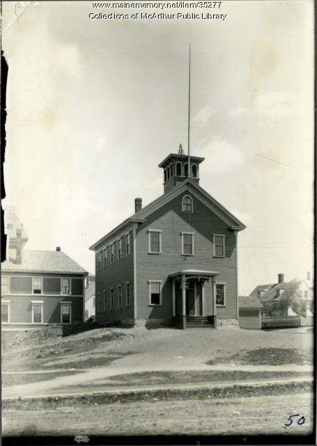 Summer Street School, Biddeford, ca. 1910