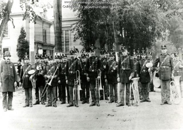 Painchaud's Band, Biddeford, ca. 1890