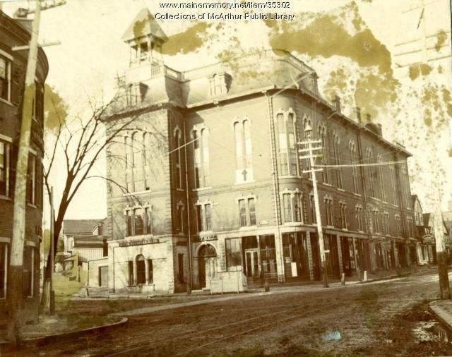 City Building, Biddeford, 1888