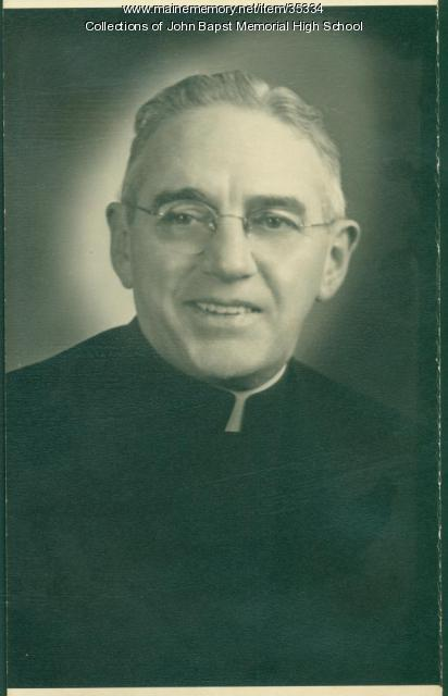 The Very Rev. Msgr. Thomas M. Nelligan, Old Town, ca. 1960