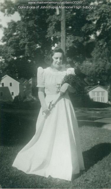 Frances Ganyan Bateman, Bangor, 1940
