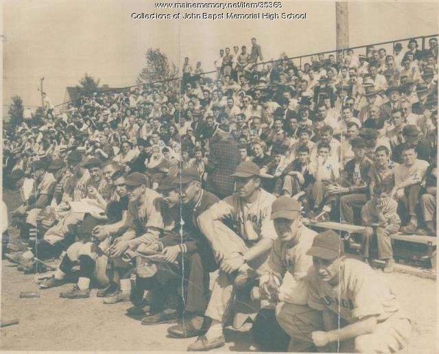 John Bapst vs. South Portland State Class A Baseball Championship, Brewer, 1949