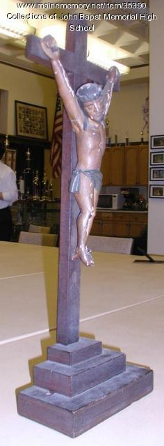 Crucifix belonging to Father John Bapst, ca. 1850