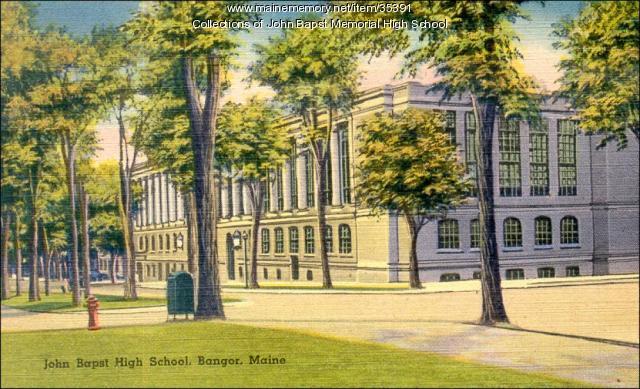 John Bapst High School, Bangor, ca. 1930