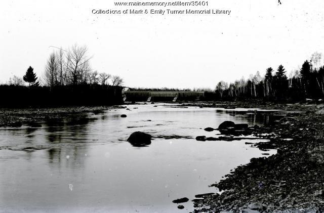 Masardis Covered Bridge, ca. 1895
