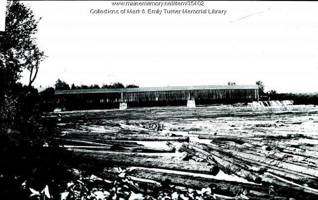 Log drive, Ashland, ca. 1895