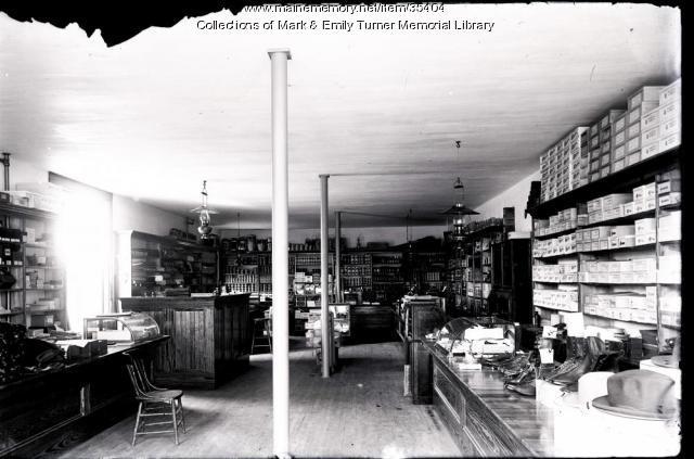 W. P. Bridgham Store, Ashland, ca. 1900