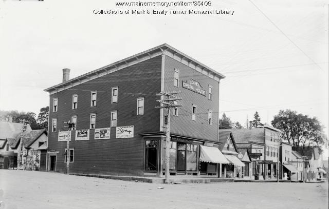 Loanes store and Opera House, Ashland, ca. 1895