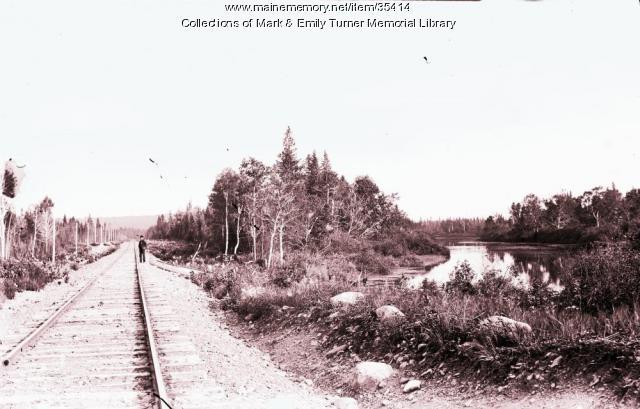Bangor and Aroostook Railroad, Ashland, ca. 1900