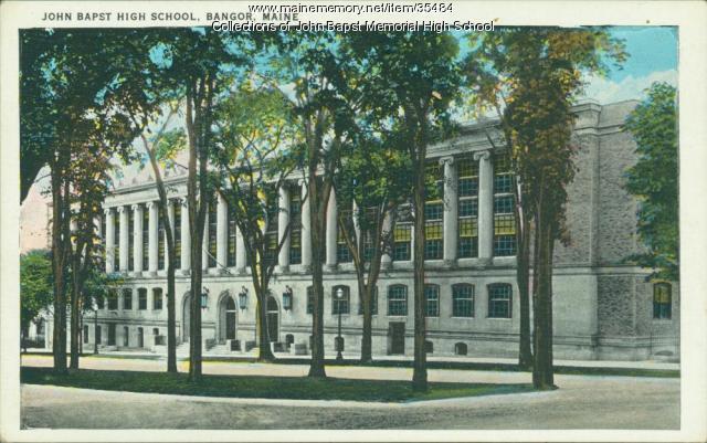 John Bapst High School, Bangor, ca. 1940