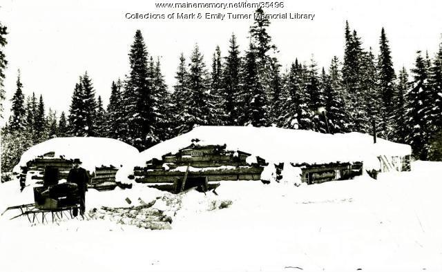 Klondike Logging Camps, T9 R3, ca. 1900