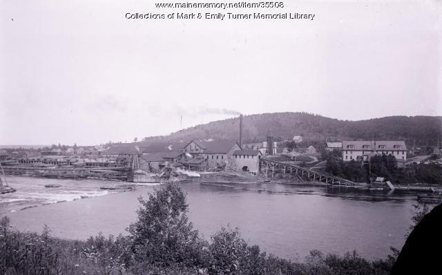 Ashland Mill Company, Sheridan, ca. 1897